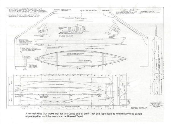 "Canoe - 13"" x 2'-4"""