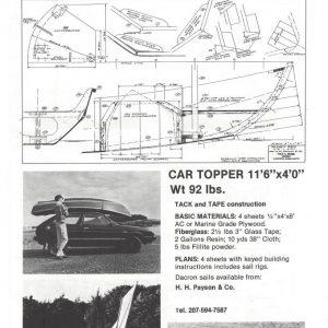 "Cartopper - 11'-6"" x 4'-0"""