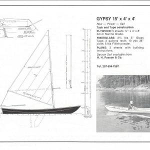 """Gypsy - 15' x 4'-4"""""""