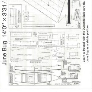 """June Bug - 14'-0"""" x 3'-3-1/2"""""""