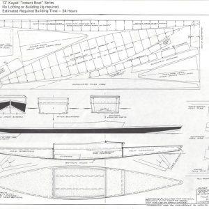 """Kayak - 11'-5"""" x 1'-11"""""""
