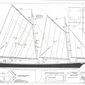 "Light Schooner - 23'-6"" x 5'-0"""