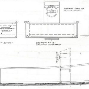 "Workskiff - 18'-0"" x 5'-3"""